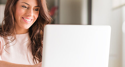 Managed Services are here to stay, thanks to this lady on a laptop.