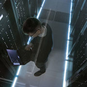 technician in data center