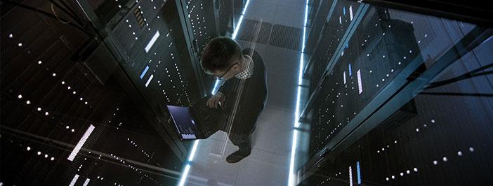 technician in data center