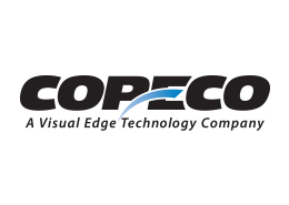 Copeco Logo - black and blue