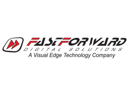 FastForward Logo - Red and Blaci
