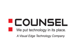 Counsel Logo - Red and Black