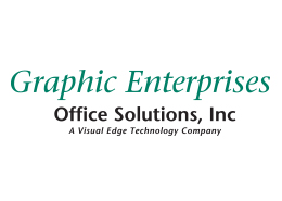 Graphic Enterprises Logo - Green and Black