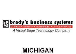 Brady's Business Systems Michigan Logo