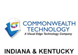 Commonwealth Technology Indiana and Kentucky Logo