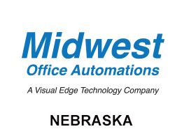 Midwest Office Automations Nebraska Logo