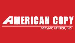 American Copy White Logo