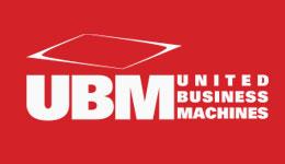 UBM White Logo