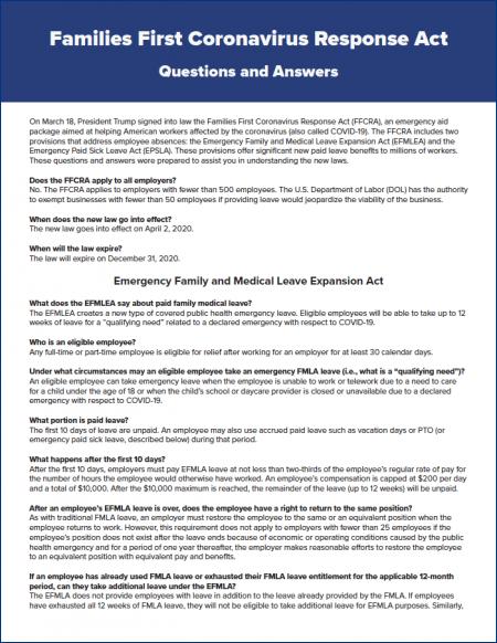 Familes First Covid Response Act thumbnail