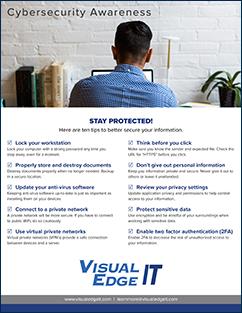 VEIT Cybersecurity Awareness Tips Checklist