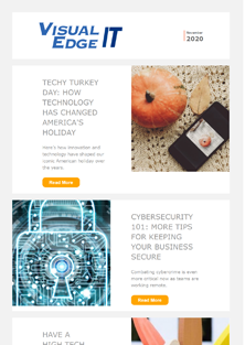 VEIT November newsletter