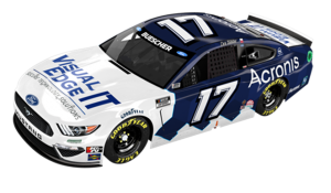 Roush Fenway and Acronis extend partnership; Acronis welcomes Visual Edge IT